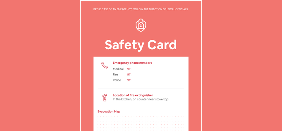 Recommended Airbnb Safety Items